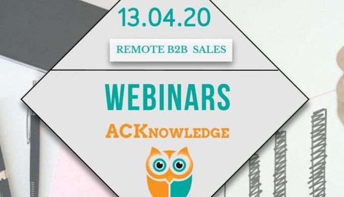 Remote b2b sales